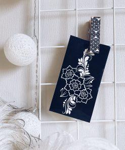 Трафарет для мехенди цветы